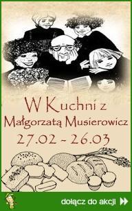 W kuchni z Małgorzatą Musierowicz