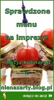 Sprawdzone menu na imprezy!