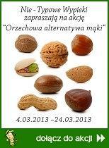 Orzechowa alternatywa mąki