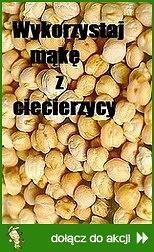 Wykorzystaj mąkę z ciecierzycy
