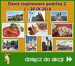 Danie inspirowane podróżą 2016